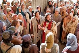 Peter preaching