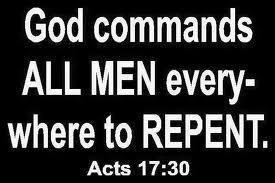 Men repent