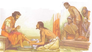 Jesus-Washes-the-Disciples-Feet-Story