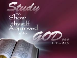 Study to shew