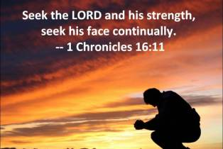Seek Gods face1