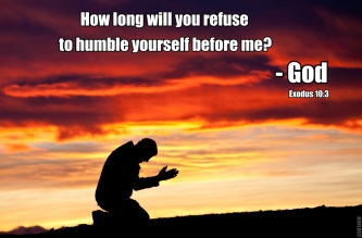 humble yourselves
