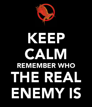 keep-calm-remember-who-the-real-enemy-is-1
