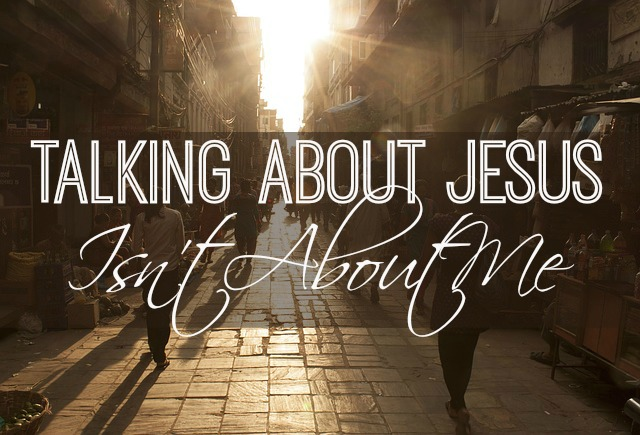 talking about Jesus1