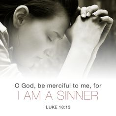 I am a sinner