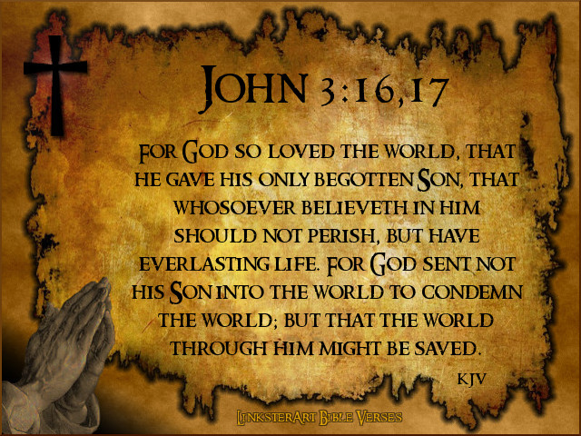 John 3 16c