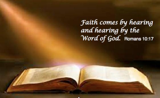 Faith comes