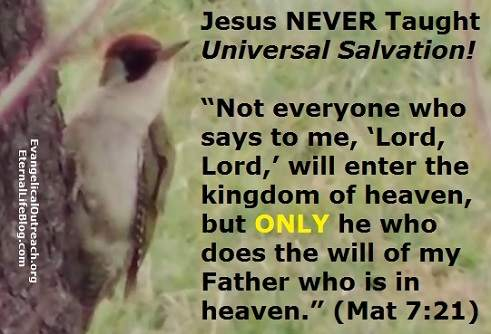 universalism is not salvation