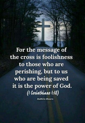 Messge of the cross