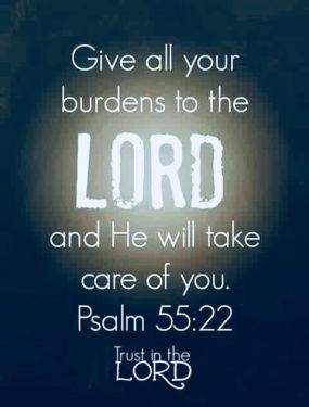 Give your burdens