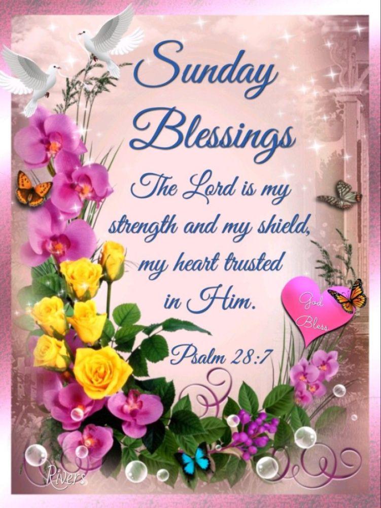 Sunday Blessings   Smile, God Loves You!