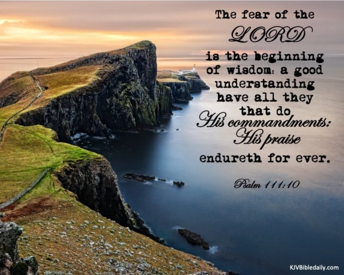 Fear of the Lord1